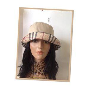 Authentic Burberry London bucket hat